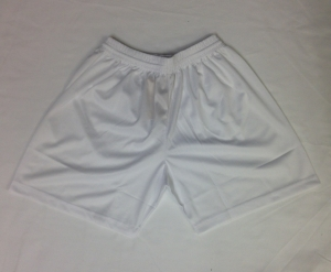 Boys White PE Shorts