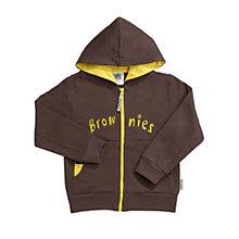 Brownies Zipped hooded top