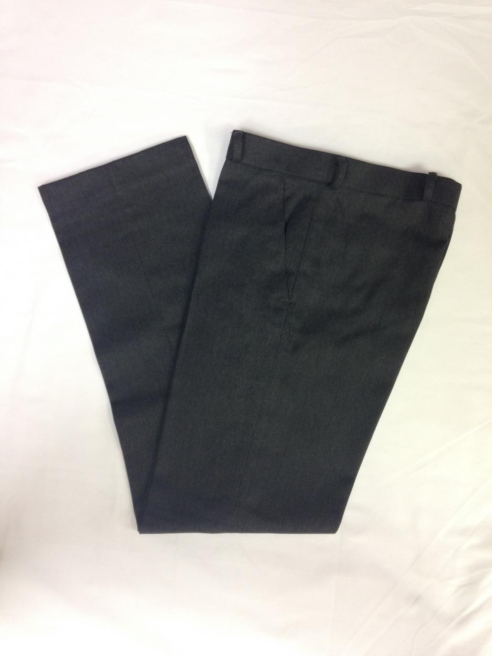 Mid Grey Long Trouser