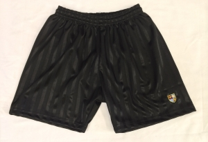 PE Shorts with School Logo