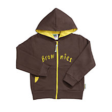 Brownies Zipped hooded top
