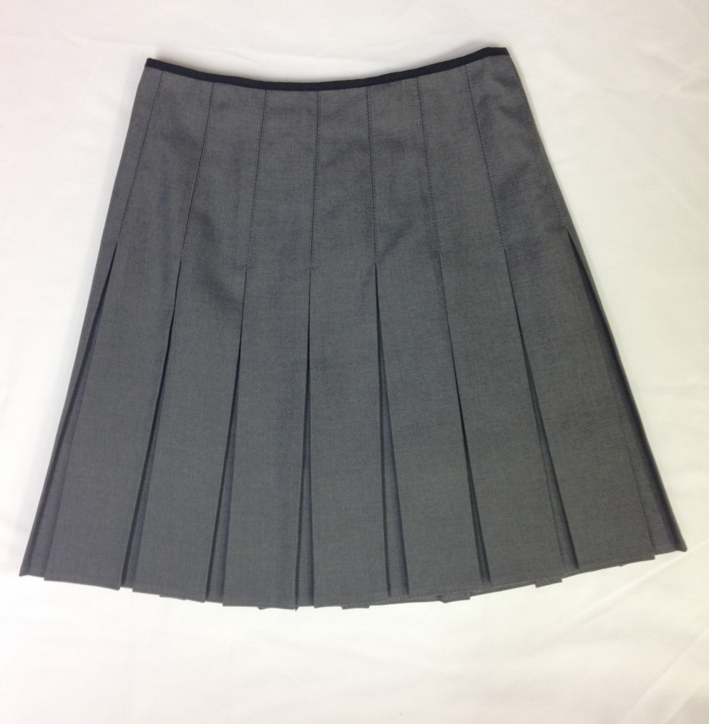 Pleated Grey Skirt