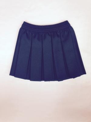 Danson Primary Pleated Green Skirt