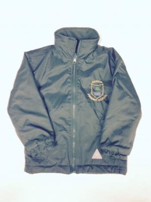 Danson Primary Green Reversible Coat