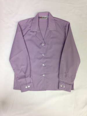 Long Sleeved Lilac Blouse
