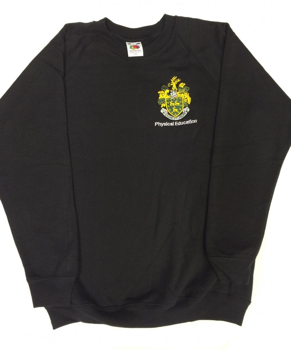 John Roan Black PE Sweatshirt
