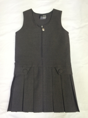 Hurst Primary Grey Pinafore